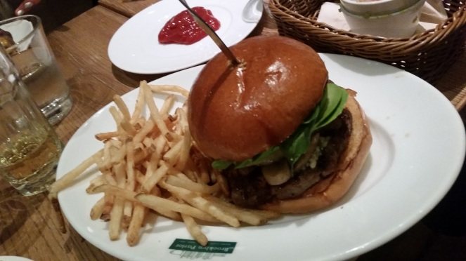 Brooklyn Parlor burger