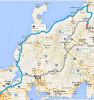 Osaka to Niigata (and back) by bus