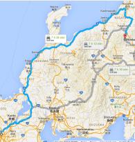 Osaka to Niigata (and back) by bus